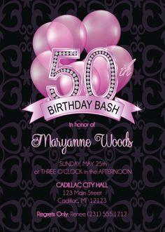 50th birthday party invitation digital printable template 50 50th birthday invitation adult 50th birthday invitation surprise birthday invite diy or printed invitation filmwisefo