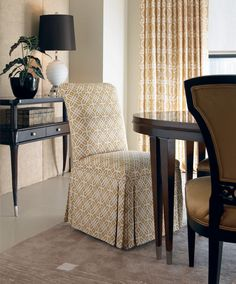 The custom-tailored assortment of Century Chair occasional chairs offers a variety of styles from traditional to contemporary to suit any design need.