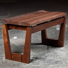 Mid Century Bench  by Infusion Furniture via fab #fab #handcraft #furniture