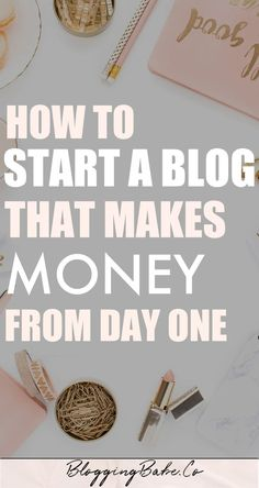 Do you want to start a blog and make money blogging? Starting a profitable blog has changed my life. In this post I'm telling you exactly how I did it; the exact steps I took to create a blog that made money from Day 1 and how you can, too. Anyone can start a blog and earn money from it. The secret to becoming a full-time blogger is here!