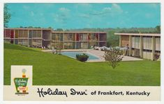 Postcards - United States # 222 - Holiday Inn, Frankfort, Kentucky