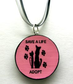 "ArtisticCreations - Craft Cafe ""Save A Life"" Designer Necklace $18.00"