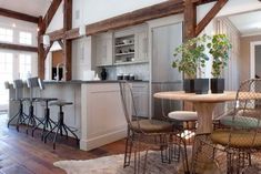 eclectic kitchen by Arturo Palombo Architecture