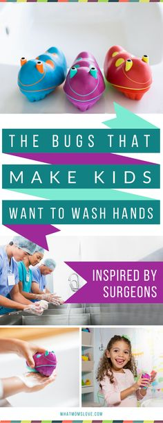 Keep your kids healthy all year round - especially during the winter, flu and cold season! These Scrub Bugs are 3 times more effective, and a fun way to get kids to wash their hands - keeping them healthy, instead of sick - hurrah! Learn more and get an e Parenting Advice, Kids And Parenting, Parenting Classes, Foster Parenting, Activity Games, Toddler Preschool, Healthy Kids, Healthy Habits, Your Child