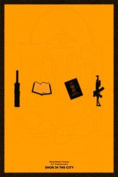 Shor in The City by Abhinav Bhatt Iconic Movie Posters, Minimal Movie Posters, Movie Poster Art, Iconic Movies, Andaz Apna Apna, Taare Zameen Par, Bollywood Costume, Comedy Nights With Kapil, Movie Dialogues