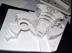 Concept Models Architecture, Maquette Architecture, Architecture Concept Diagram, Architecture Presentation Board, Futuristic Architecture, Architecture Design, Archi Design, Arch Model, School Design