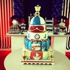 Feste tema Ursinhos Marinheiros