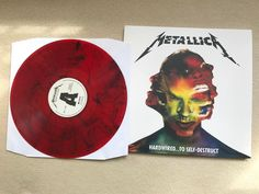This afternoon's entertainment @metallica on red #vinyl #vinyladdict #vinylrecord #vinyljunkie #vinylcollection #vinylrecords #vinylstore #metallica
