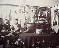 1890's home interiors   Parlor 1890's   Flickr - Photo Sharing!