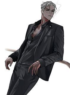 Handsome Anime Guys, Hot Anime Guys, Cute Anime Boy, Character Art, Character Design, Hot Vampires, Anime Wallpaper Live, Art Poses, Anime People