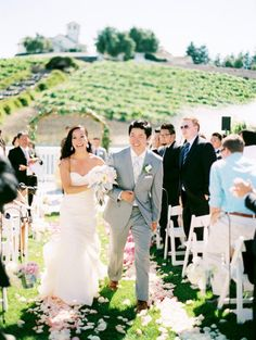 Gorgeous vineyard wedding | Photo by Leo Patrone Photography