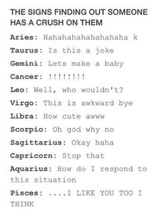 so true.... but if i like them i'll probably turn into gemini in a split .01 seconds