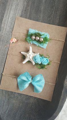 Natural starfiah tieback pearl mermaid tieback organic