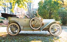 1911 Auburn Model N A smaller model L Auburn was priced at $1,400.00 had a four cylinder engine rated at 30 horsepower had a 112 inch wheelbase and 34 inch wheels. In addition a $1,000.00 model G Touring Car and model K Roadster had a two cylinder engine.