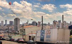 Pipa e Paisagem (2016) Vila Santa Isabel vista da Rua Visconde do Uruguai, Vila Eutália, Zona Leste de São Paulo. Foto: Rogério de Moura