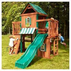 Swing-N-Slide Winchester Wooden Play Set Kit : Target