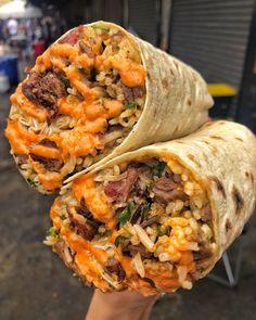 """Foodgodsdaddy on Instagram: """"Burrito goals🔥🔥🔥 pc: @mideasttacos 👉🏼 TAG #foodgodsdaddy"""""""