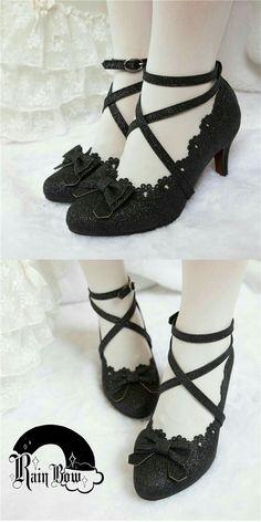 Pin on Shoes Pin on Shoes Pretty Shoes, Cute Shoes, Me Too Shoes, Kawaii Fashion, Cute Fashion, Fashion Shoes, Kawaii Shoes, Kawaii Clothes, Lolita Shoes