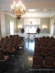 Indoor Ceremony- maximum seating is 70 people