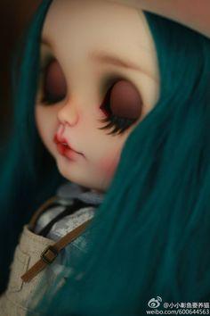 OOAK Custom Blythe Doll -blue- by Donna