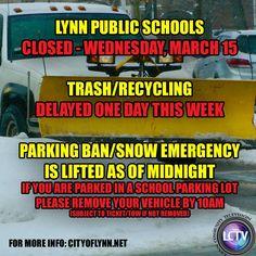 LYNN SCHOOL WATCH: CLOSING TIME