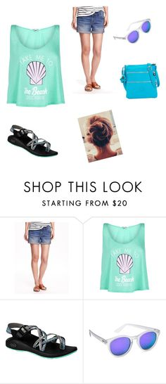 """""""Untitled #49"""" by wendy-kashner-jackson on Polyvore featuring Old Navy, Wildfox, Chaco, Le Specs, Kipling, women's clothing, women, female, woman and misses"""