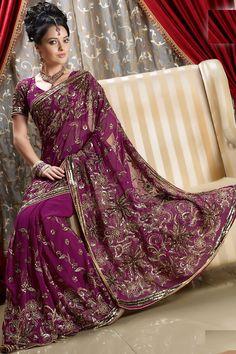 Designer Sarees   Latest Designer Saree with Hand Embroidery Work