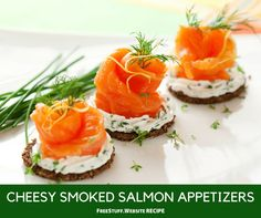These smoked salmon roll ups are fun and super delicious