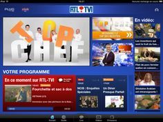 RTL Channels on Second Screen Apps by Tapptic. To receive all info about shows, share on social networks, watch exclusive videos, check the Guide TV and never miss a show thanks to the alarm.