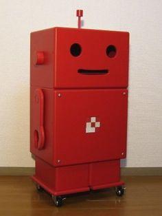 ROBIT woody storage box by ete