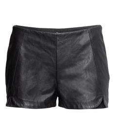 Imitation Leather Shorts $29.95
