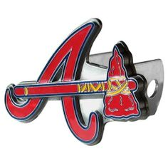 MLB Trailer Hitch Cover - Atlanta Braves MLB Trailer Hitch Cover - Atlanta Braves by Siskiyou. $49.99. Our MLB Trailer Hitch Cover is hand painted with 3-D carved logo. Hardware included. Enameled on durable, rust-proof zinc.Fits Class II and Class III hitches. Check out our extensive line of wholesale automotive accessories!