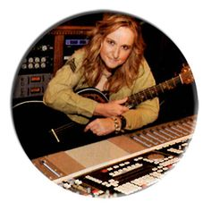 ONLY ONE Melissa Etheridge 2-1/4 Inch Button