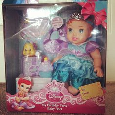 Tolly Tots My Birthday Party Disney Princess Doll #Review & #Giveaway