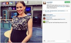You may not know that Eva Milic is actually pregnant wearing our Lace Empire!! Absolutely stunning! We love how versatile this dress is :-)