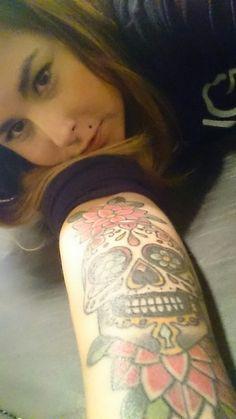 Tatto calavera mexicana