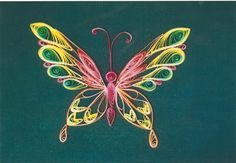quilling designs | Quilling Designs Butterfly