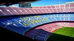 Barcelona - Camp Nou Stadium