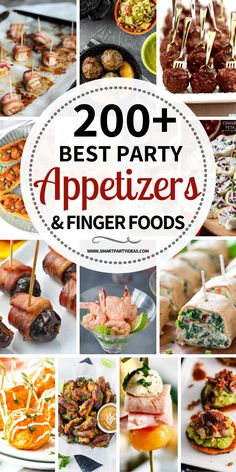 Host an epic party with one or many of these delicious small bite party appetize. Host an epic party with one or many of these delicious small bite party appetizers. With over 200 d Best Party Appetizers, Appetizers For A Crowd, Easy Party Food, Finger Food Appetizers, Delicious Appetizers, Epic Party, Finger Foods, Appetizer Recipes, Cold Party Food