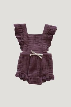 Little Girl Outfits, Toddler Outfits, Kids Outfits, Summer Outfits, Lace Playsuit, Baby Girl Fashion, Playsuits, Knitwear, Organic Cotton