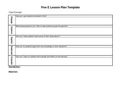 10 best school images on pinterest lesson plan templates esl