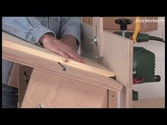 Router table made to go horizontal to vertical - YouTube