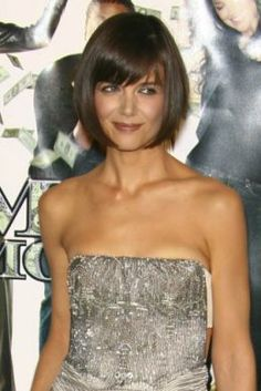 2012 Short Bob Hairstyles With Side Swept Bangs