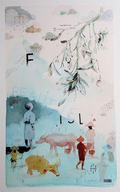 Paintings on paper - Andrew Sutherland Fine Art & Illustration Children's Book Illustration, Illustrations, Childrens Books, Worship, Art Photography, Digital Art, Hero, Graphic Design, Fine Art