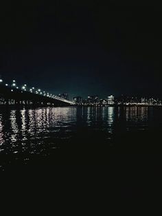 #한강 #야경 #korea #river 2016.4 Seoul Night, Crystal Marie, Han River, Night Aesthetic, Black Dark, Aesthetic Vintage, Late Nights, Midnight Blue, Pastel Colors