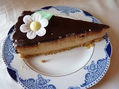 Sernik z masłem orzechowym bez pieczenia ~ Lepsza wersja samej siebie Cheesecake, Food, Cheesecakes, Essen, Meals, Yemek, Cherry Cheesecake Shooters, Eten
