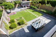 Dijkhof Tuin - advies, ontwerp, aanleg en onderhoud - Achtertuin Apeldoorn - Woudhuis