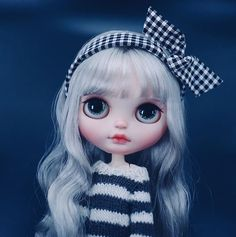 #repost from @xiaomidoububu.12138 Hi @xiaomidoububu.12138! I'd like to invite you to join the Blythe Doll Customizers Directory site - www.dollycustom.com - Please send me an email #customblythe #dollycustom