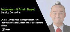 Armin Nagel, Deutschlands lustigster Serviceexperte, hat sich zu einem Interview…