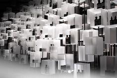 Aesop installation by Cheungvogl, Hong Kong trade fairs cosmetics